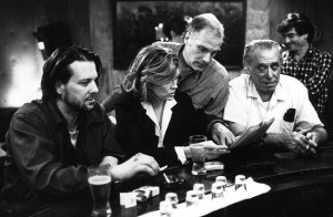 Barfly movie set