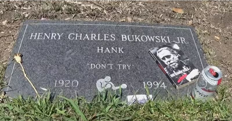 Watch: A Visit to Charles Bukowski's Grave