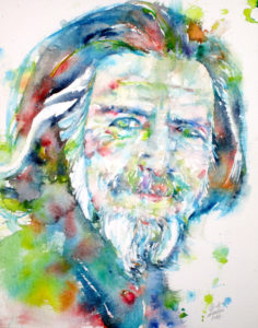 alan watts painting